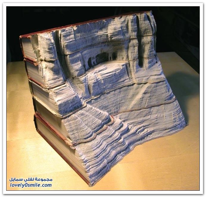 فن نحت الكتب