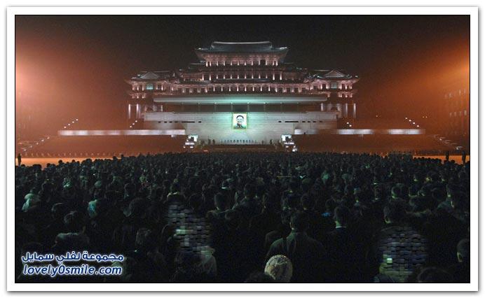 صور تشييع جنازة رئيس كوريا الشمالية كيم جونغ ايل