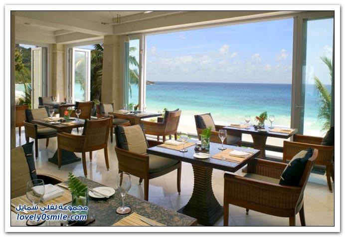 فندق في أحد جزر جمهورية سيشل
