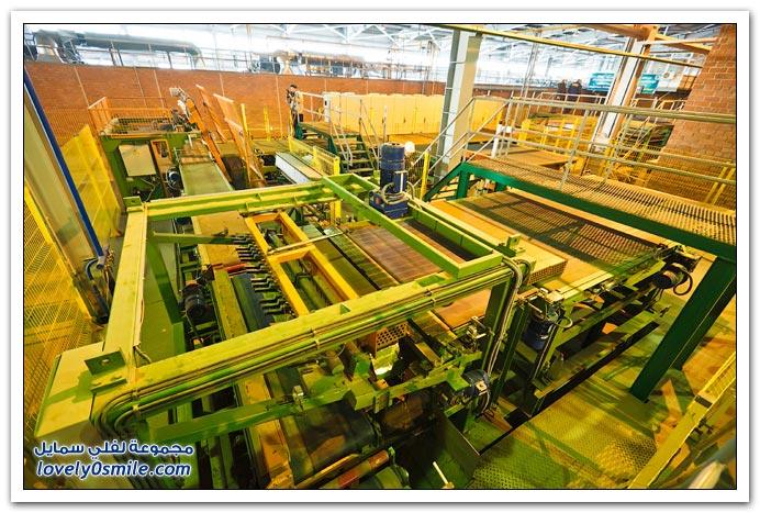 طريقة إنتاج الطوب الأحمر في كازاخستان
