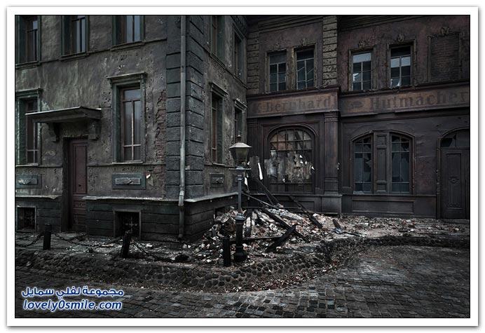 مدينة صغيرة في ألمانيا لإنتاج أفلام شركة موسفيلم الروسية