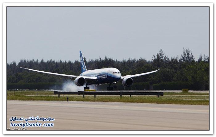 طائرة الأحلام بوينغ 787