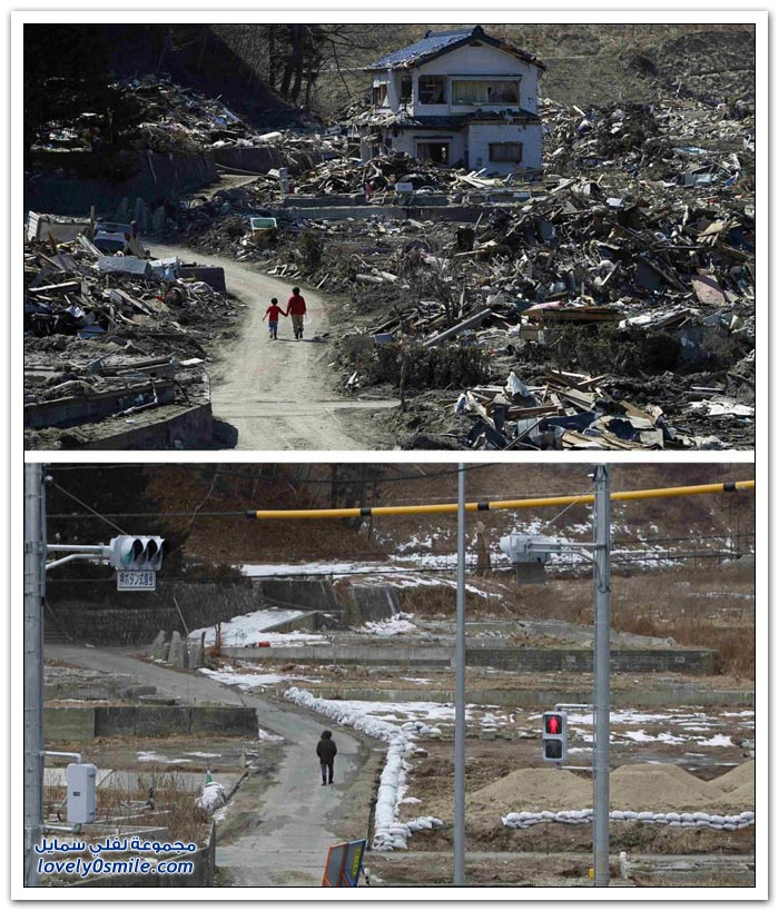اليابان بعد عام على كارثة التسونامي