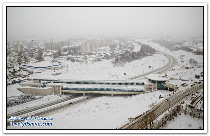 مترو كازان في ثامن أكبر مدينة في روسيا