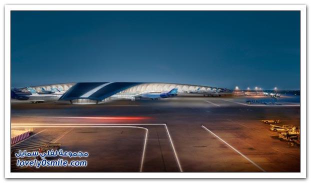 تصميم مطار الكويت الدولي الجديد