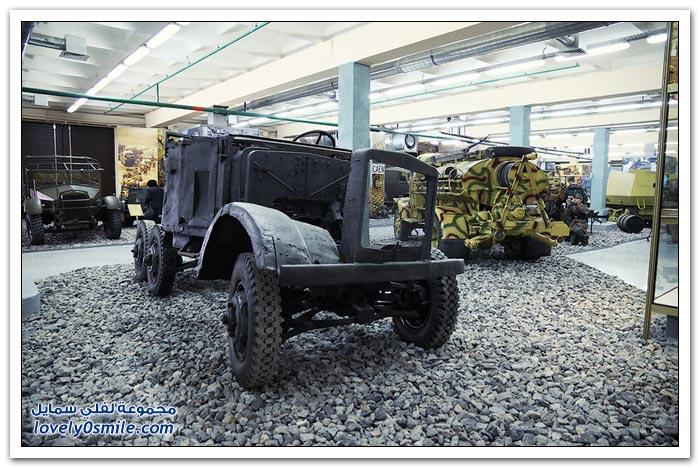 متحف المعدات العسكرية أيام الحرب العالمية الثانية في موسكو