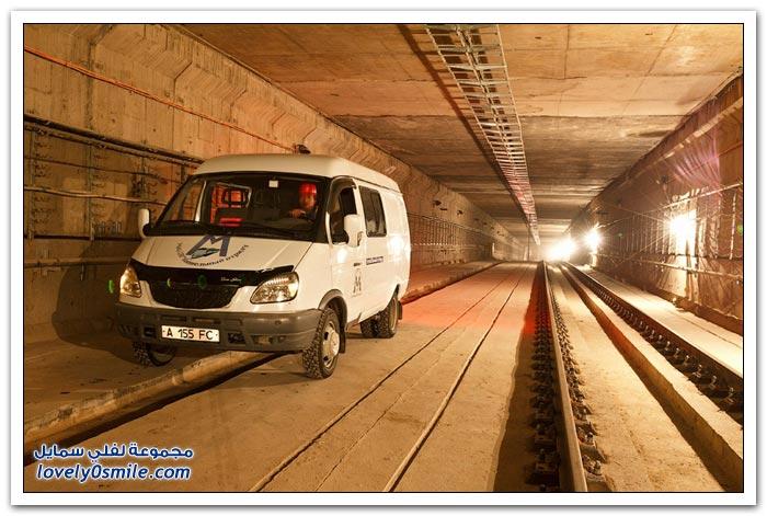 مشروع مترو الأنفاق في ألماتي بكازاخستان