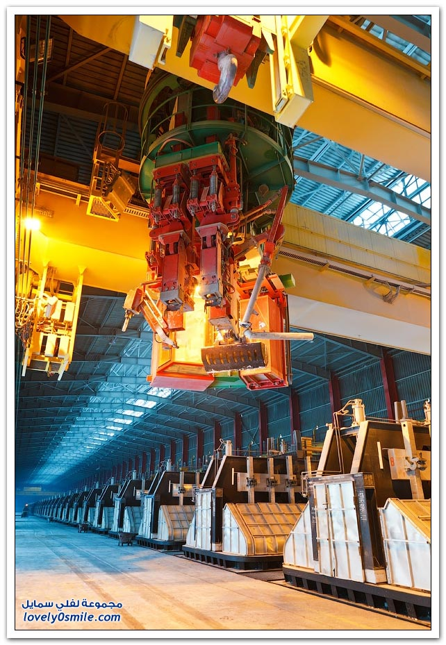مصنع لإنتاج الألمنيوم في كازاخستان