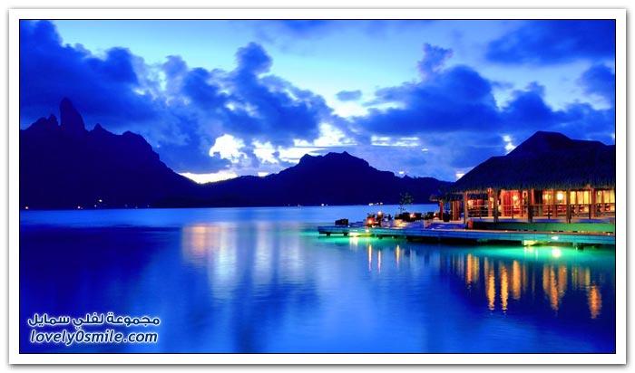 جزيرة بورا بورا ومنتجع فور سيزونز