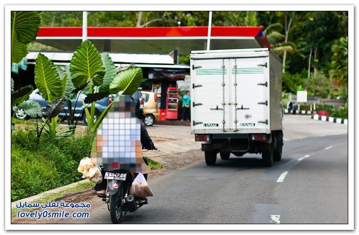 بوروبودور في جزيرة جاوة الإندونيسية