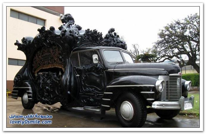 أشكال من سيارات نقل الموتى