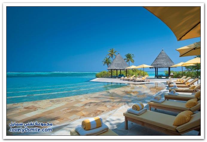 منتجع فور سيزونز في جزر المالديف