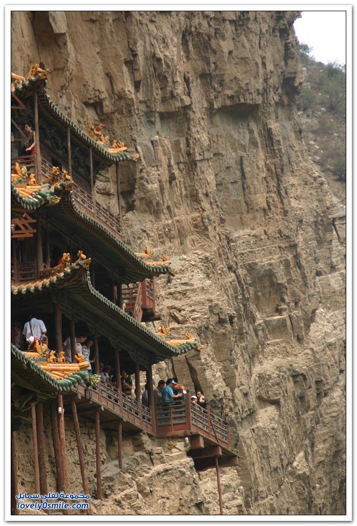معبد هنغشان المعلق في الصين
