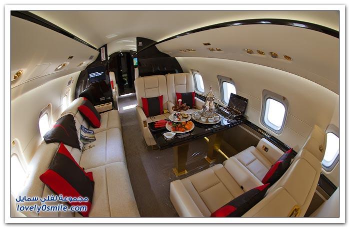 التصميم الداخلي للطائرات الجديدة للخطوط البحرينية