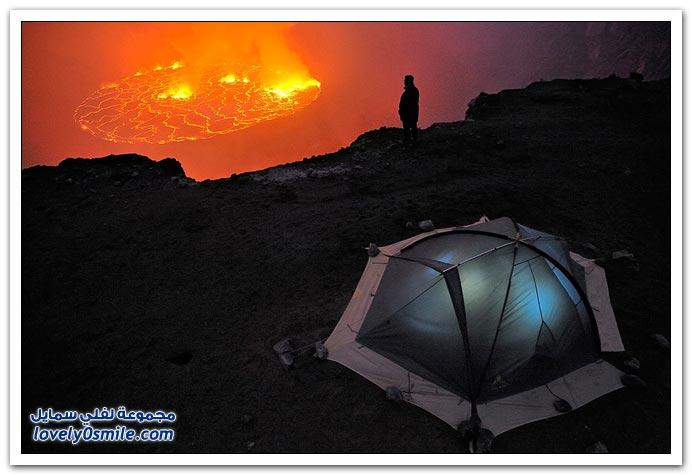 رحلة إلى قلب بركان نييراجونجو