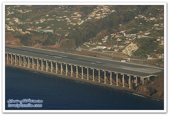 مطار ماديرا الدولي في البرتغال