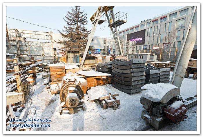 مشروع مترو الأنفاق لمدينة دنيبروبيتروفسك في أوكرانيا