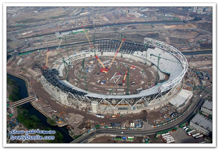 الاستعدادات لأولمبياد لندن 2012