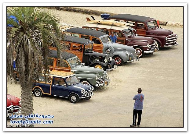 تجمع السيارات المخشبة بكاليفورنيا