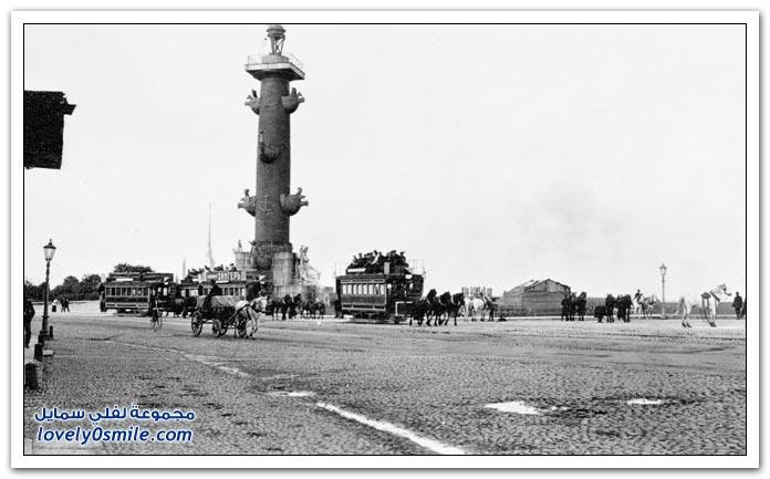 صور نادرة من سان بطرسبرج عام 1909