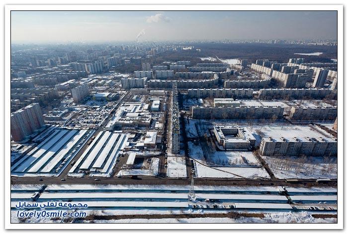 جولة حول مدينة موسكو