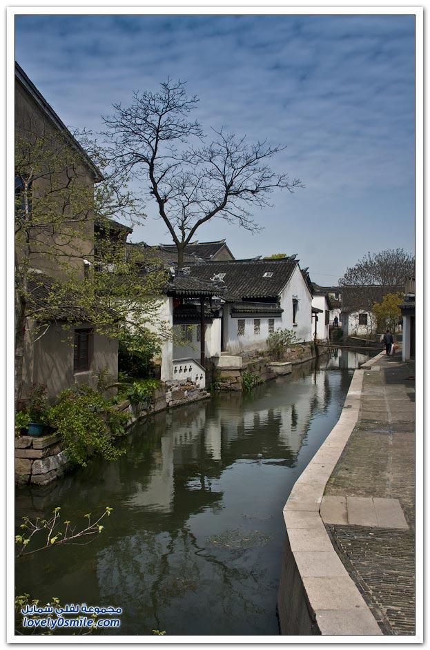 مدينة البندقية في الصين والتي تسمى مدينة تشوتشوانغ