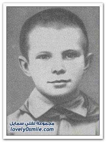 صور تكريم أول رائد فضاء سوفيتي عام 1961