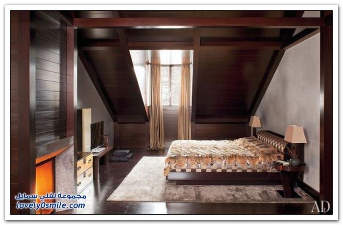 صور من بيت جورجيو أرماني في سويسرا
