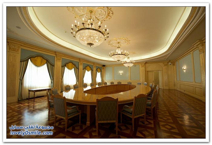 زيارة للقصر الرئاسي في كازاخستان