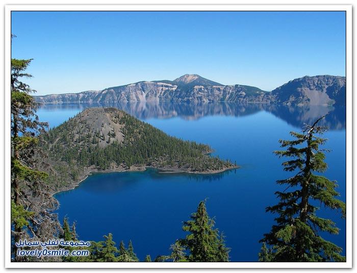 بحيرة فوهة البركان