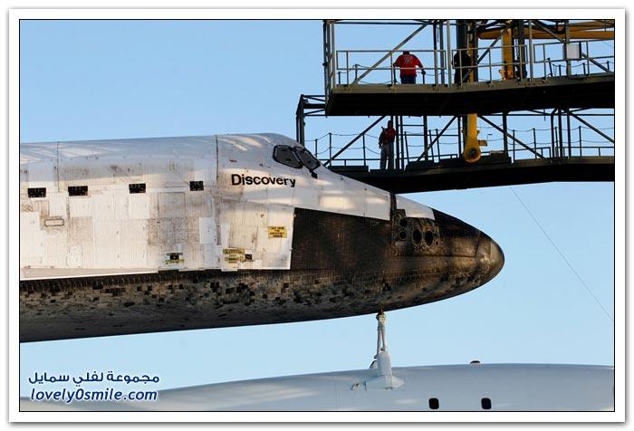 الرحلة الأخيرة لمكوك الفضاء ديسكفري