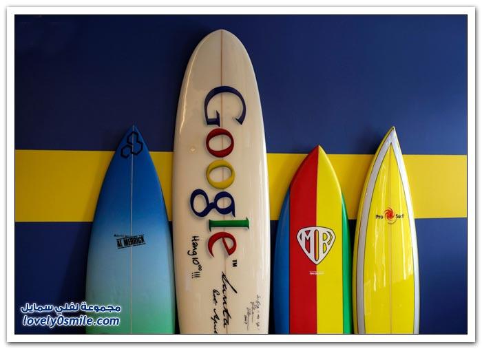 مكتب الأحلام في شركة جوجل