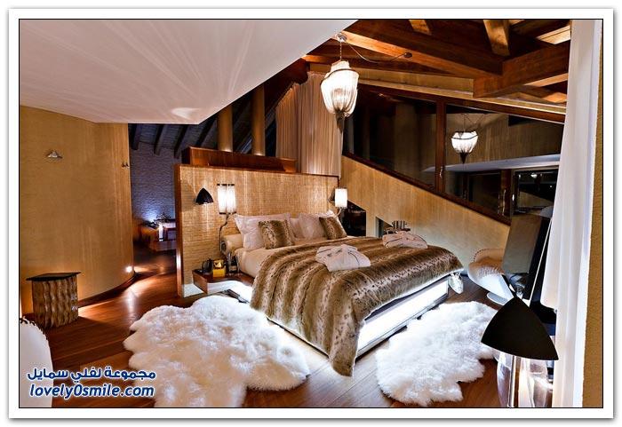 فندق زيرمات شاليه في أحد جبال سويسرا