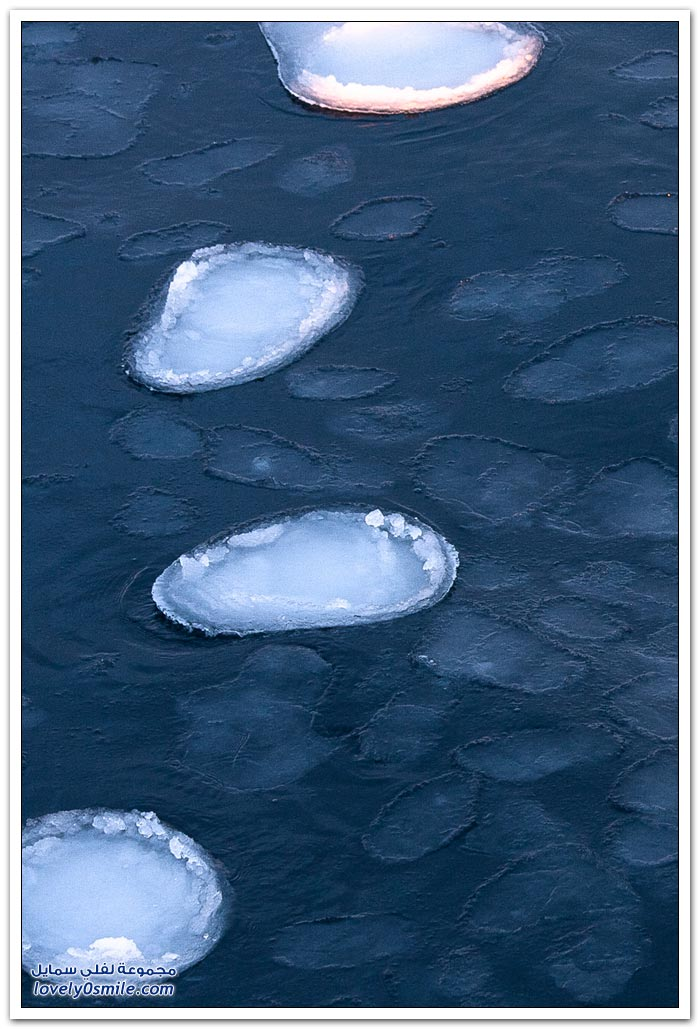 جمال البحر الجليدي في أيسلندا