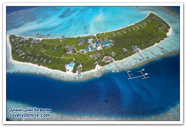جزيرة المخبأ في المالديف