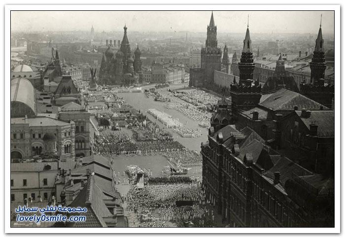 موسكو بين عامي 1930-1940م