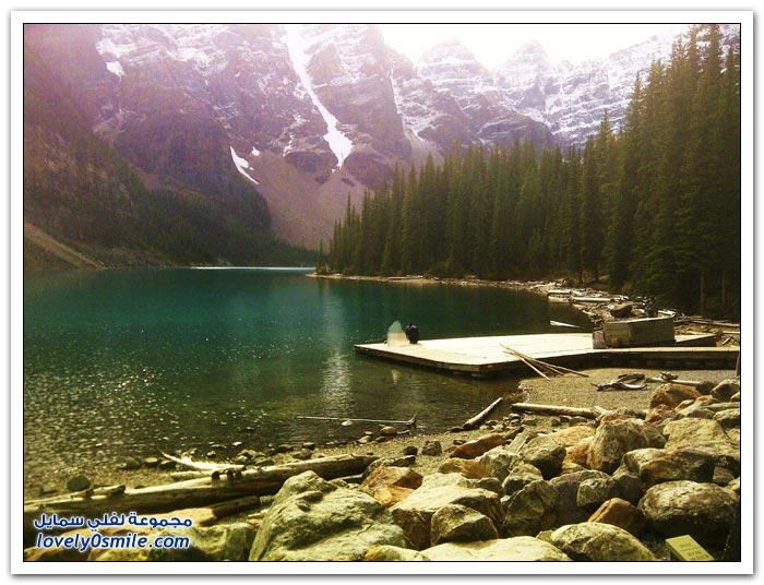 بحيرة الركام في كندا