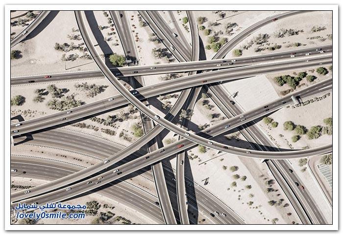 صور لأكثر الطرق تعقيدا في العالم