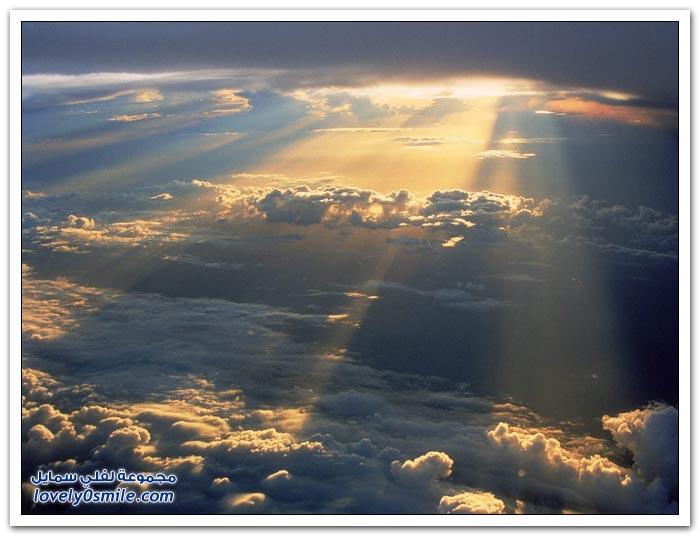 صور لأشعة الشمس