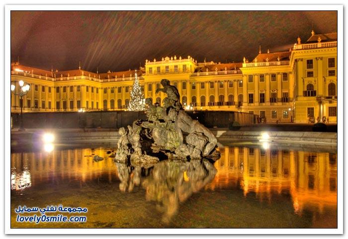 صور لمعالم سياحية ليلاً