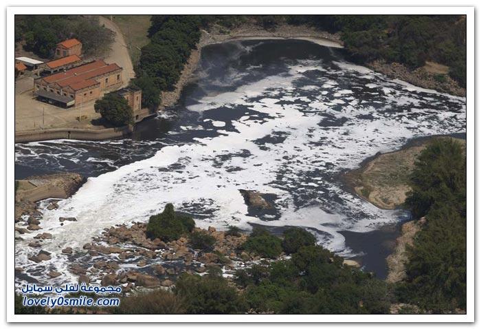تلوث الأنهار في ساو باولو