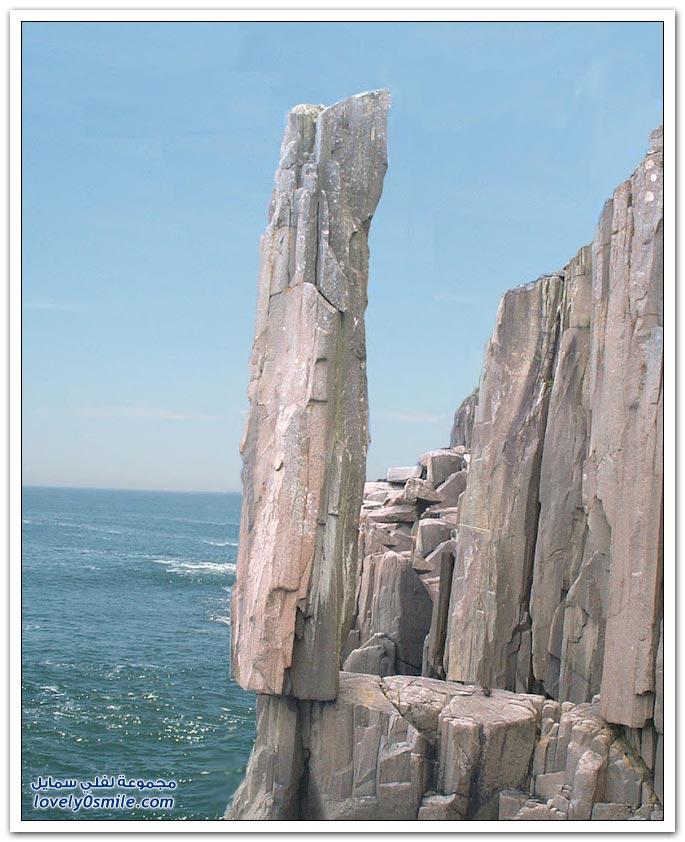أغرب عشر صخور في العالم