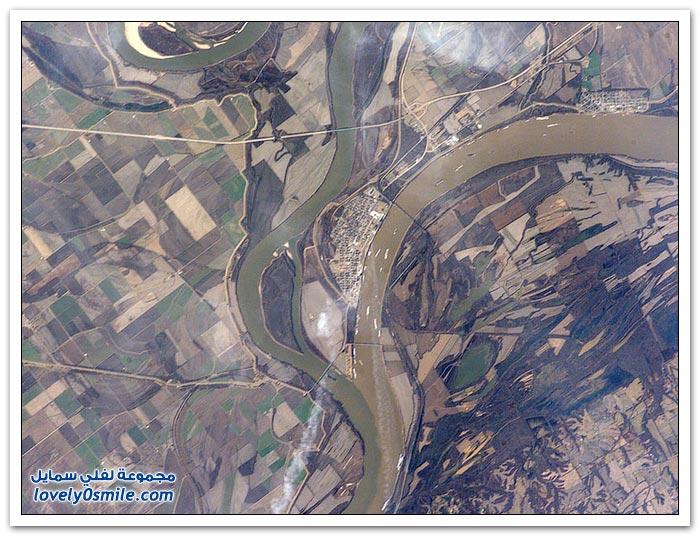 التقاء الأنهار حول العالم
