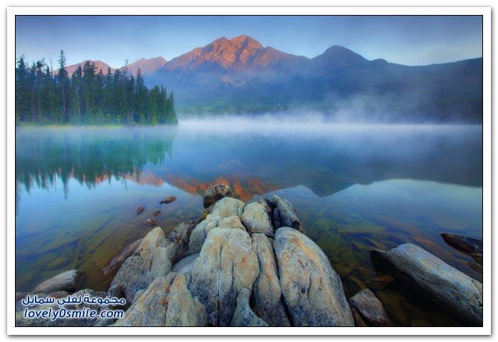 روعة المناظر الطبيعية في كندا