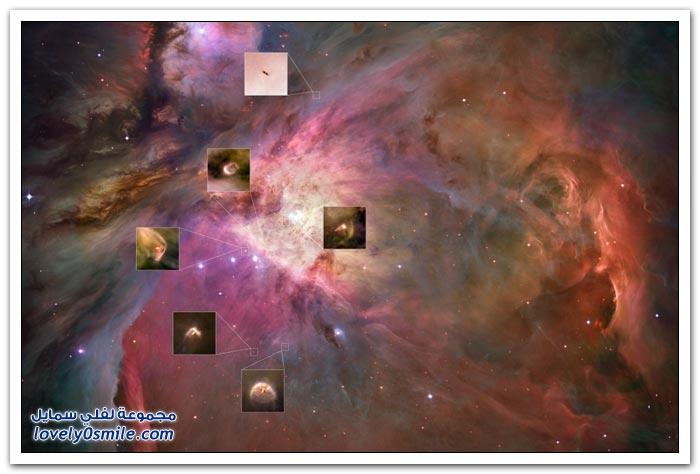 أفضل 30 صورة من تلسكوب الفضاء هابل