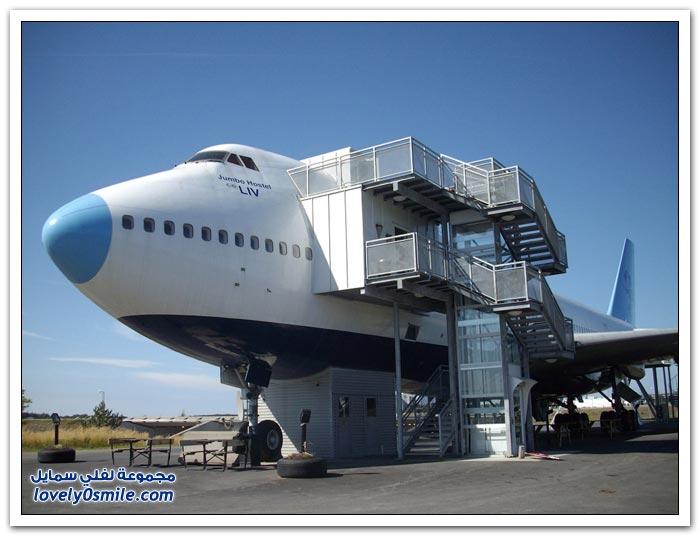 فندق ارلاندا داخل طائرة في ستوكهولم