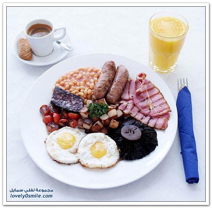 خمسين فطور من مختلف أنحاء العالم