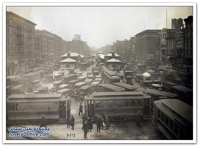 صور تاريخية من أرشيف بلدية نيويورك