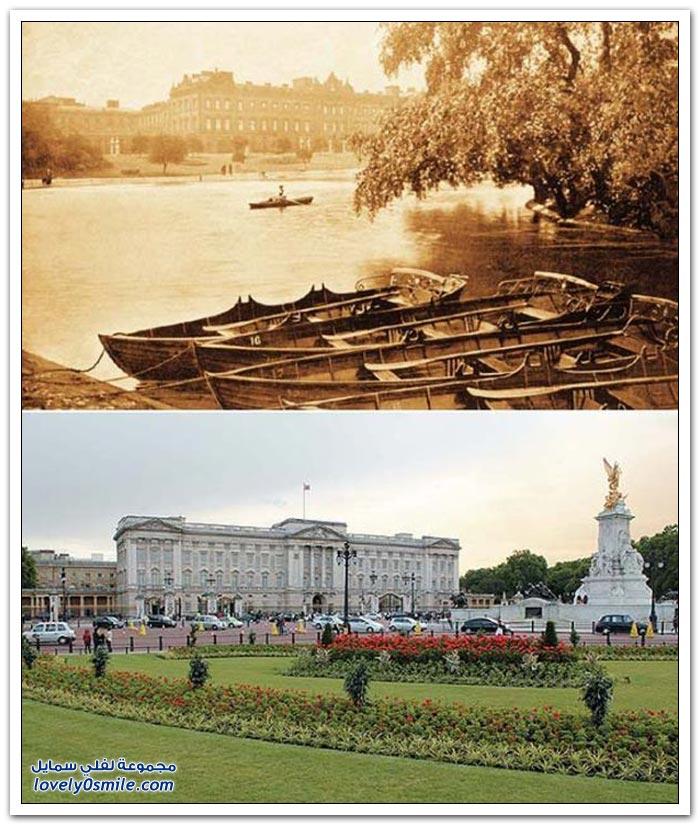 لندن كيف كانت عام 1897 وكيف أصبحت الآن