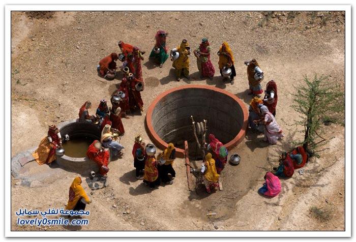 صور للهند من السماء
